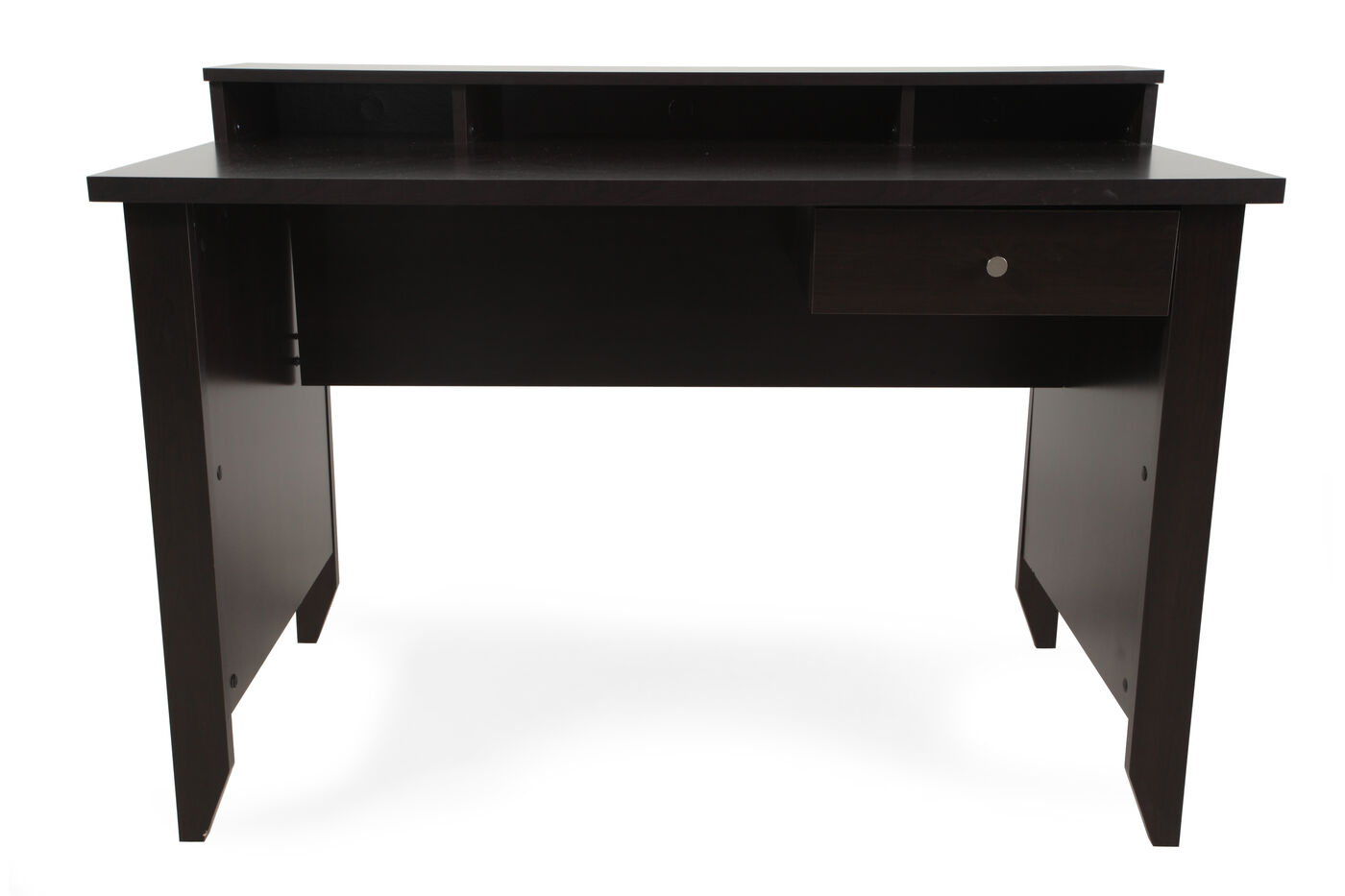 47 Quot Casual One Drawer Desk In Cinnamon Cherry Mathis