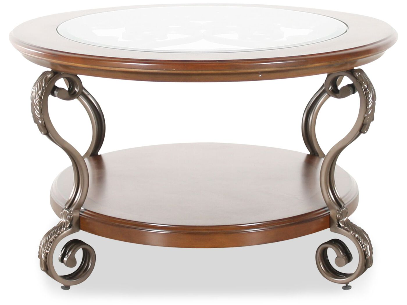 oval cocktail table - ashley | mathis brothers