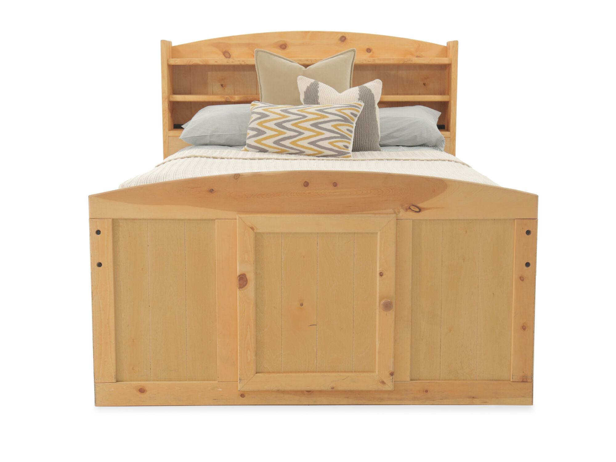 trendwood palomino cinnamon captains bed