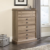 "48.5"" Contemporary Four-Drawer Chest in Salt Oak"