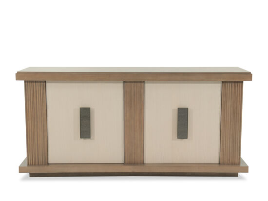 "Contemporary 72"" Credenza in Morning Light"