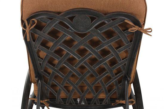 Aluminum Chaise Loungein Brown