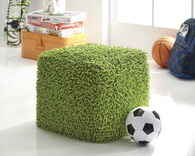 "Casual 18"" Pouf in Green"