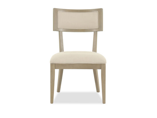 Modern 38'' Side Chair in Beige