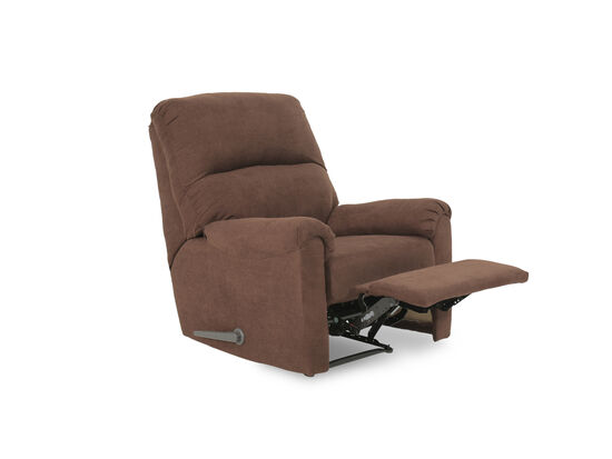 "Contemporary 35"" Wall Saver Recliner in Java"