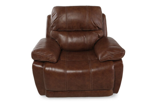 "Contemporary 48"" Power Recliner in Tumbleweed"