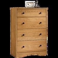 MB Home Genesis Highland Oak 4-Drawer Chest