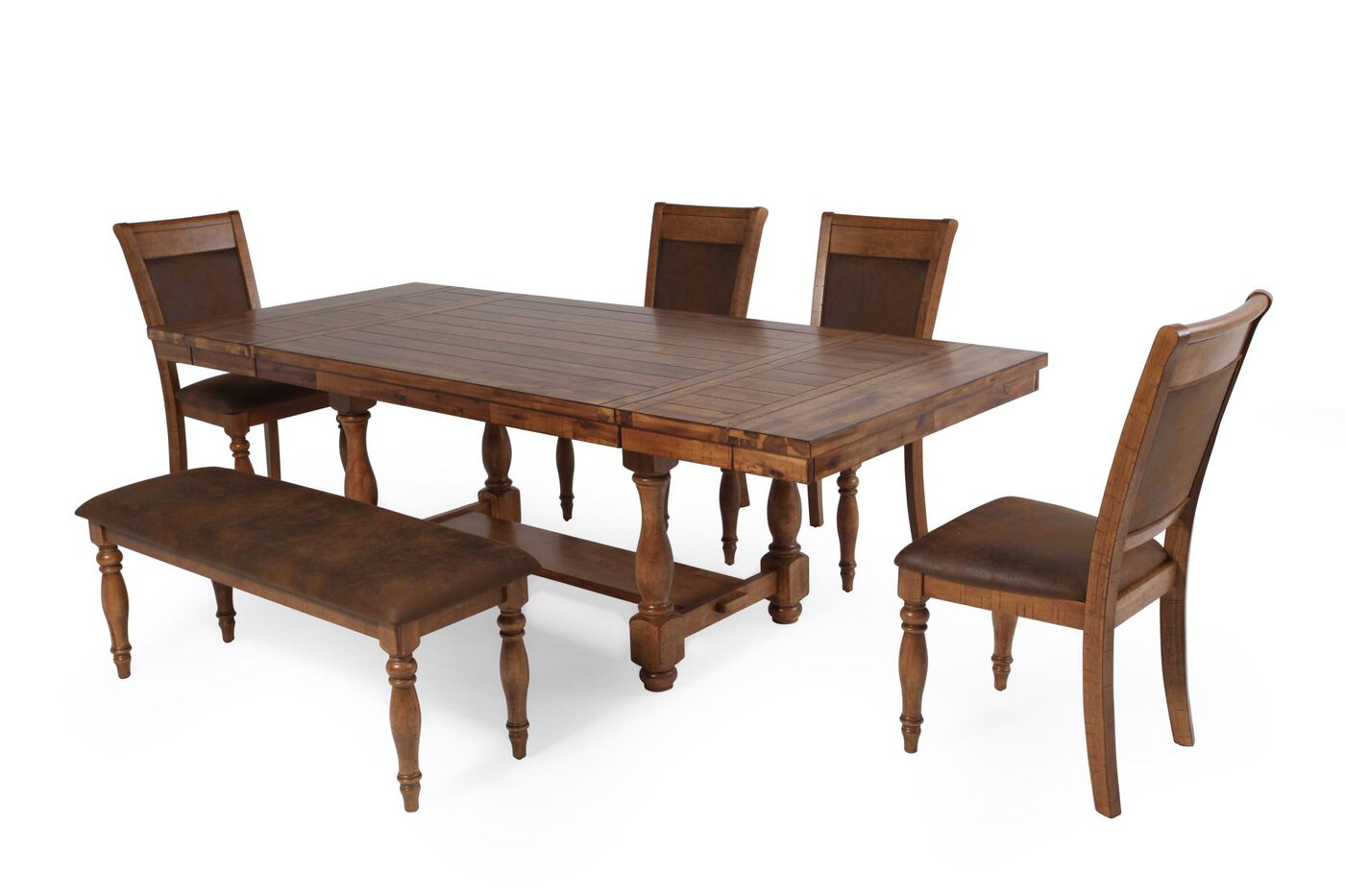 winners only grand estate six-piece dining set | mathis brothers
