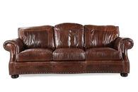 USA Leather SG Oak Sofa