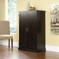 MB Home Office Central Cinnamon Cherry Computer Armoire