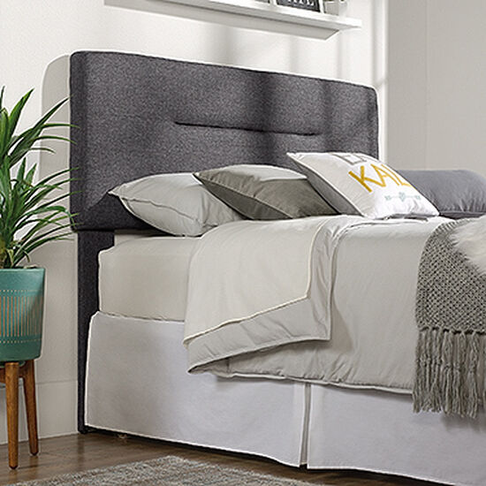 MB Home Fusionville Charcoal Gray Queen Headboard