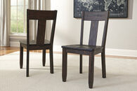 Ashley Trudell Dark Brown Dining Room Side Chair