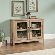 MB Home Canary Lane Lintel Oak Display Cabinet