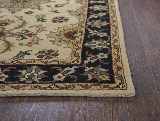 Transitional Hand-Tufted 2.6 x 8 Runner Rug in Beige