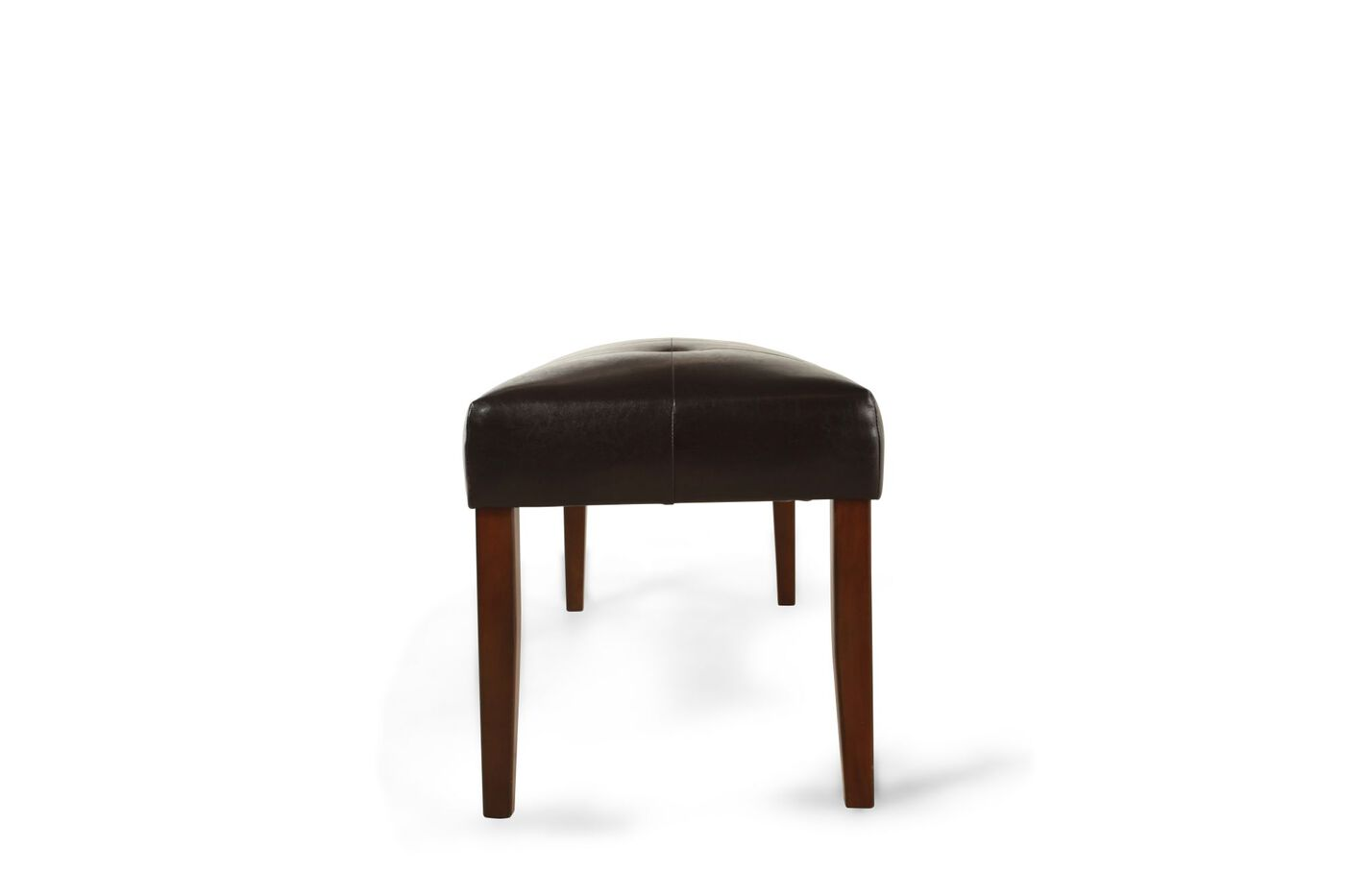Tufted 47 39 39 Dining Bench In Brown Mathis Brothers Furniture
