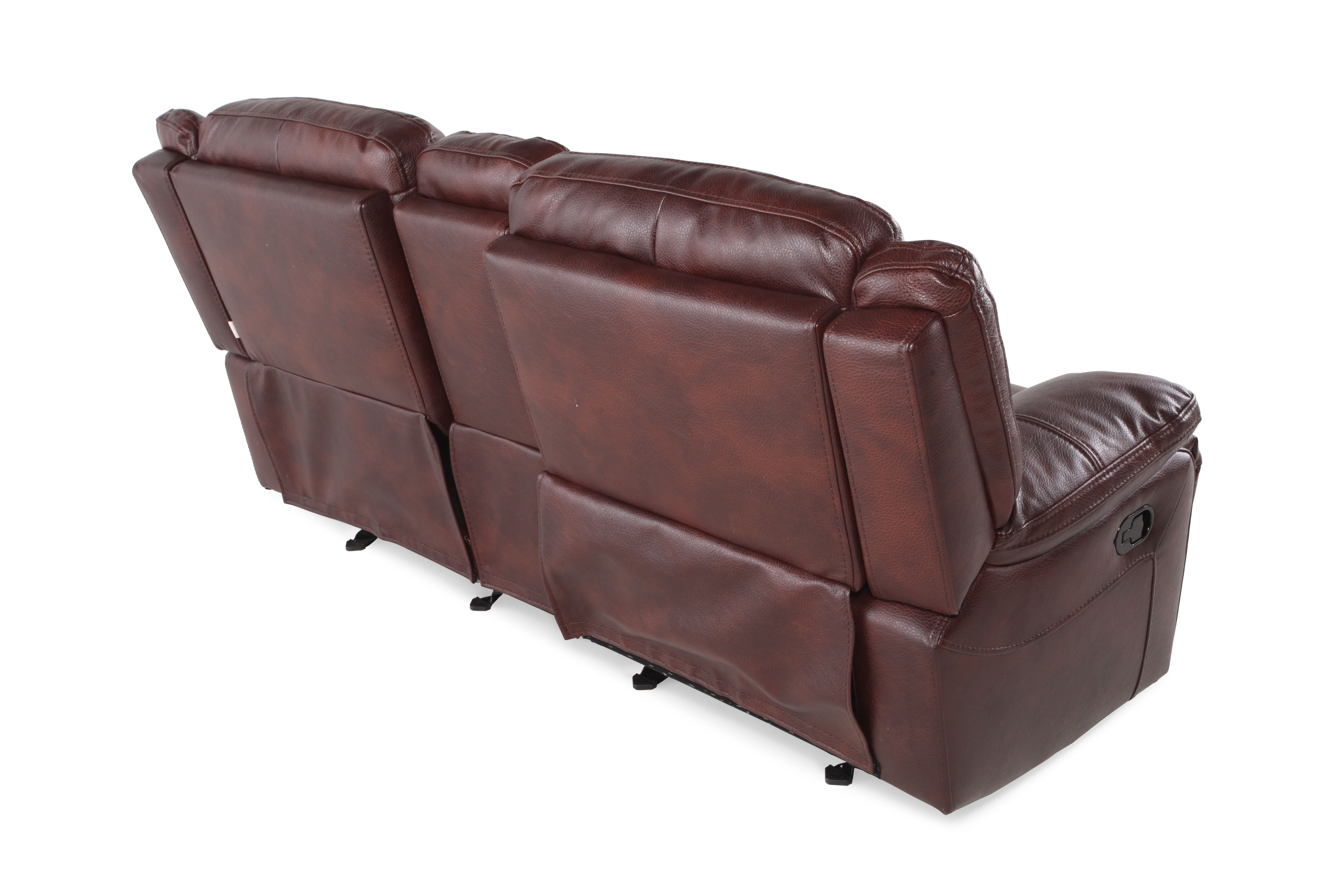 Boulevard Glider Reclining Loveseat with Console  sc 1 st  Mathis Brothers & Boulevard Glider Reclining Loveseat with Console | Mathis Brothers ... islam-shia.org
