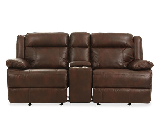 Power Reclining Loveseat in Brown