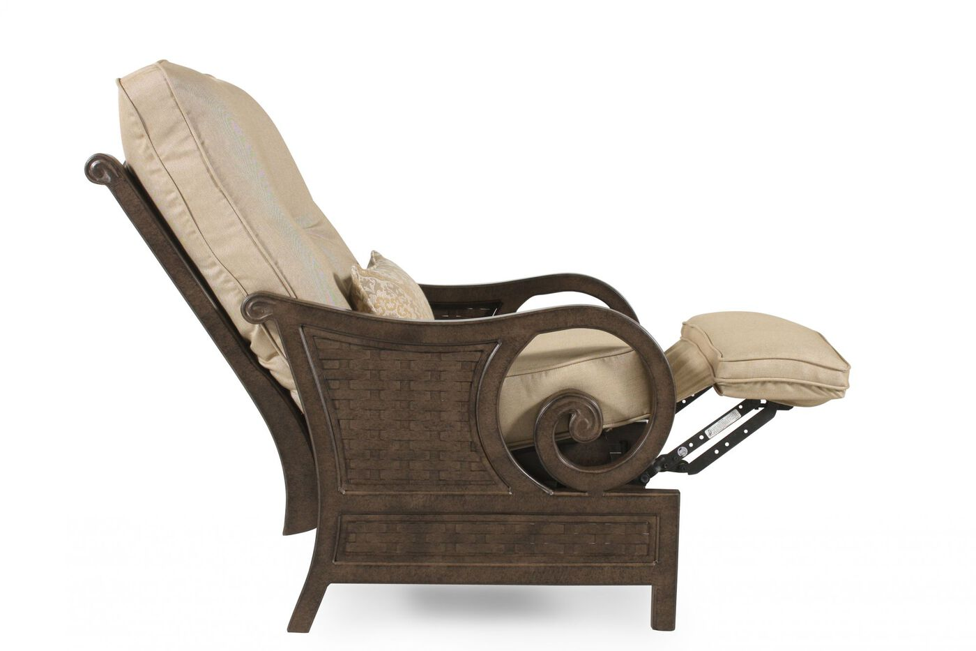 Patio Recliner Chairs Castelle Riviera Patio Recliner Mathis Brothers Furniture