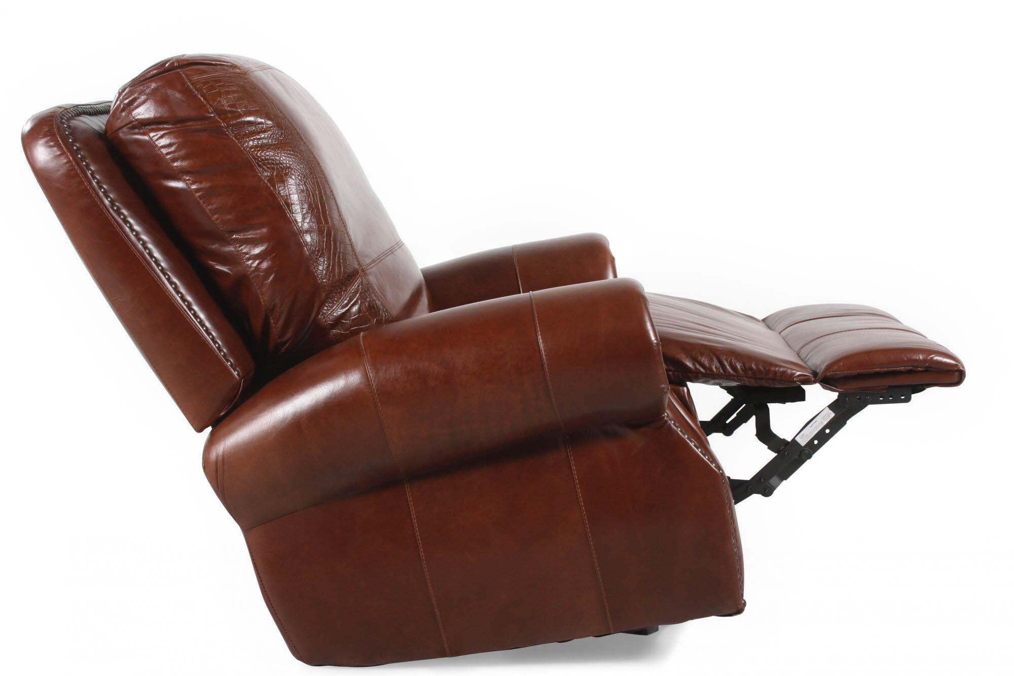 usa leather brandy rocker recliner - Leather Rocker Recliner