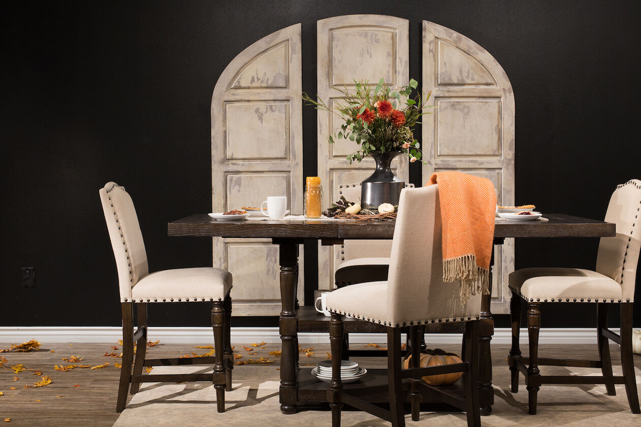 Traditional 60u0026quot; To 78u0026quot; Tall Dining Table ...