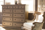 Aspen Belle Maison Aged Oak Ten-Drawer Master Chest