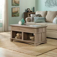 Rectangular Lift-Top Contemporary Coffee Table in Salt Oak