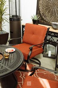 Ashley Burnella Swivel Lounge Chair