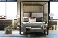Bernhardt Palma California King Brown Canopy Bed