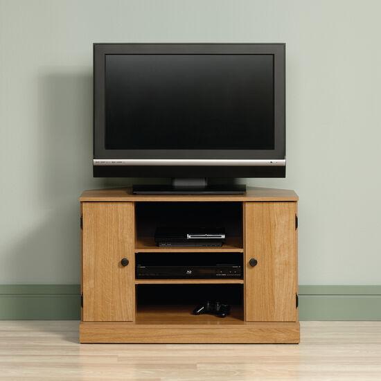 Two Cabin Door Casual Corner TV Standin Light Oak