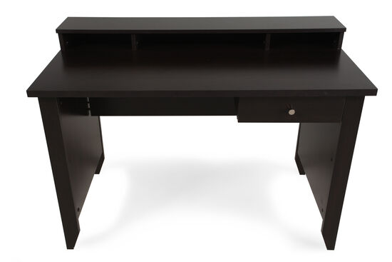 """47"""" Casual One-Drawer Desk in Cinnamon Cherry"""