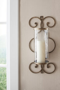 Ashley Oenone Antique Gold Finish Wall Sconce