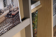 MB Home Office Central Urban Ash Display Bookcase