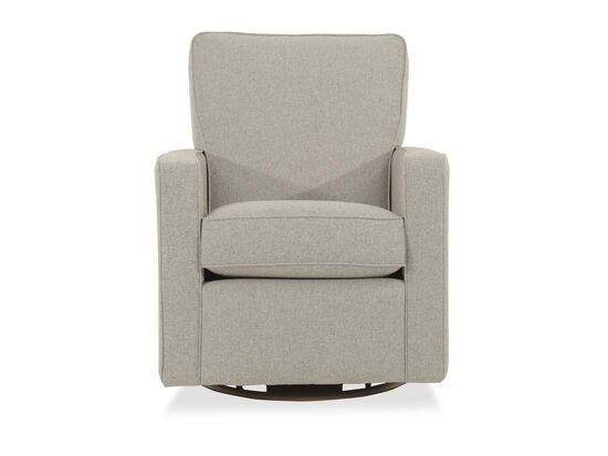 Swivel Glider Chair in Dove
