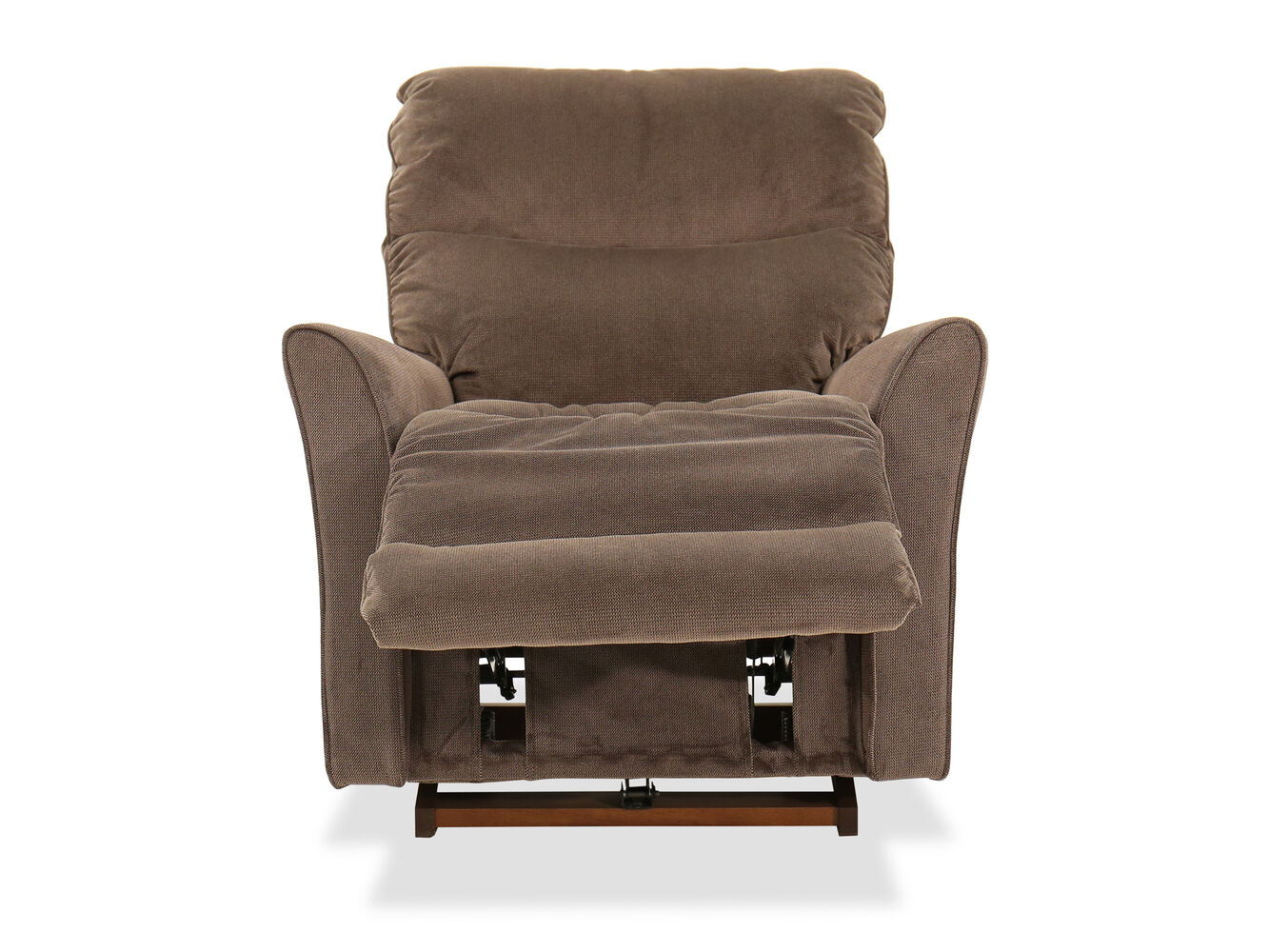 recliners recliner white stratolounger chairs chair small for dark charming your perfect brown rocker living leather room