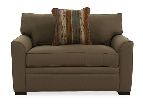 "T-Back Casual 54"" Chairbed in Brown"