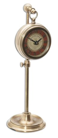 Pocket Watch Replica with Telescopic Stand