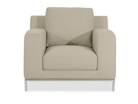 """Low-Profile Casual 40"""" Chair in Stone Beige"""