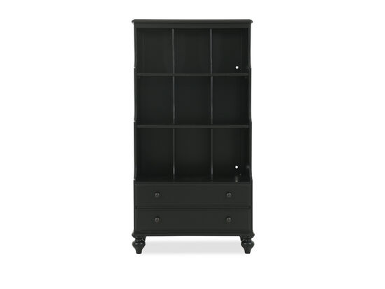 Universal Black & White Youth Bookcase