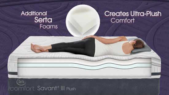 Serta iComfort Savant III Plush Mattress