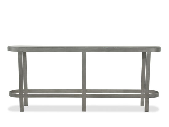 Contemporary Long Console Table in Gray