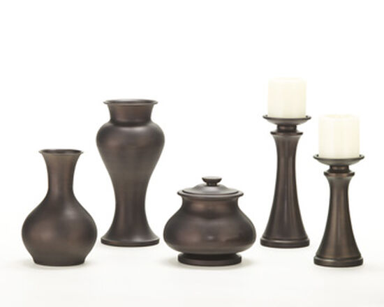 Five-Piece Traditional Accessories in Brown