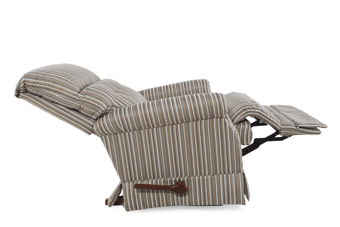 "Striped Contemporary 33 5"" Recliner"