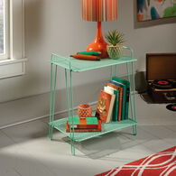 MB Home Orchard Green Accent Table