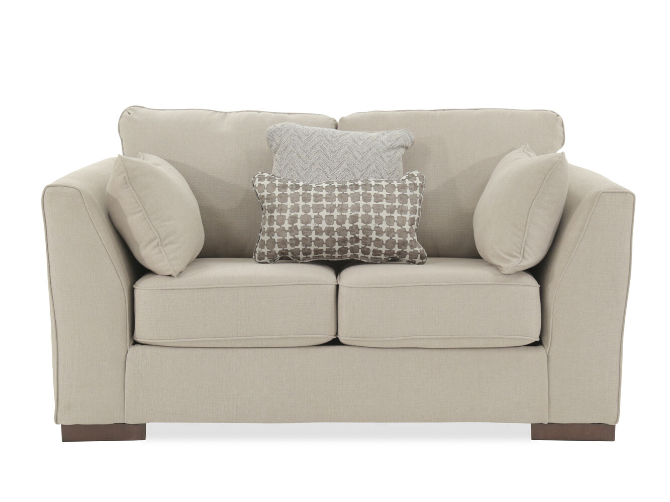 contemporary quot loveseat in gray. contemporary  loveseat in gray  mathis brothers furniture