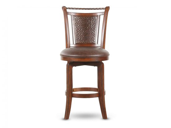 Contemporary Bar Stool in Cherry
