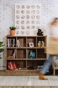 Sauder Cubbyhole Bookcase