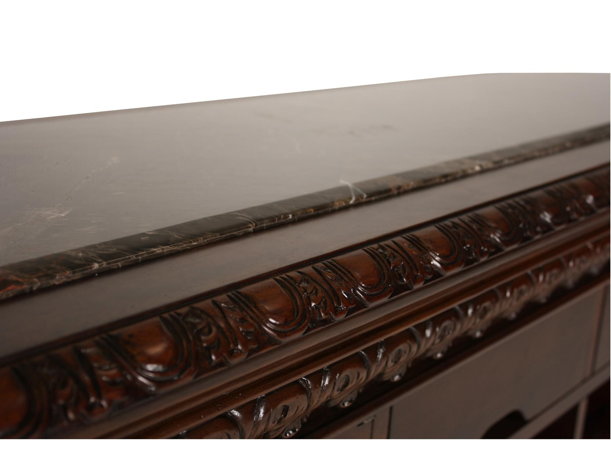 Traditional 42u0026quot; Bar With Pilastered Columns In Dark Brown