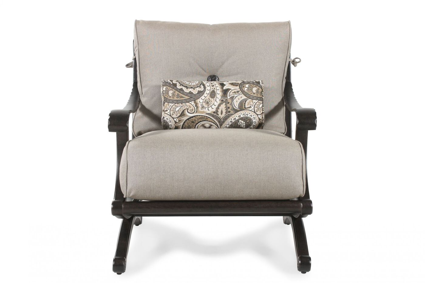 Mathis Brothers Patio Furniture castelle telluride patio lounge chair | mathis brothers furniture