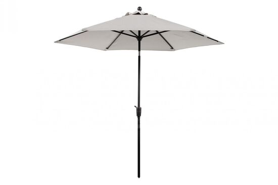 Contemporary Umbrella in Cream