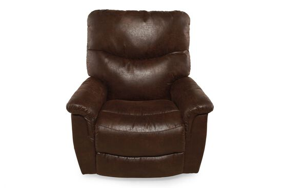 "Traditional 39"" Rocker Recliner in Sable"